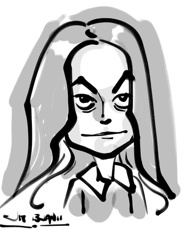 Zen Brush caricature - 5