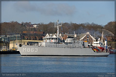 HNLMS Vlardingen - M863 (Aviation & Maritime) Tags: norway stavanger navy minesweeper royalnetherlandsnavy hnlms minehunter m863 vlardingen hnlmsvlardingen m863vlardingen
