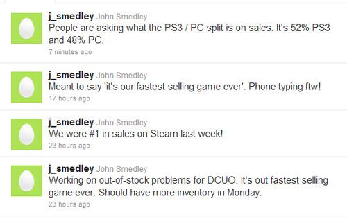 DC Universe Online Sales