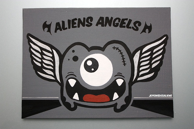 Aliens Angels