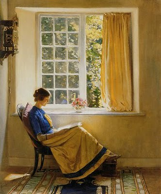 Morning Sun, Harold Knight