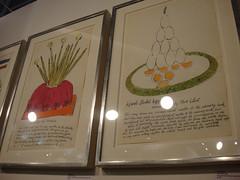 Andy Warhol - Wild Raspberries, portfolio of 18 lithographs with extensive watercolour applied by hand (designer_dan) Tags: uk london art dan designer contemporary fair exhibition galleries islington 2011 designerdan
