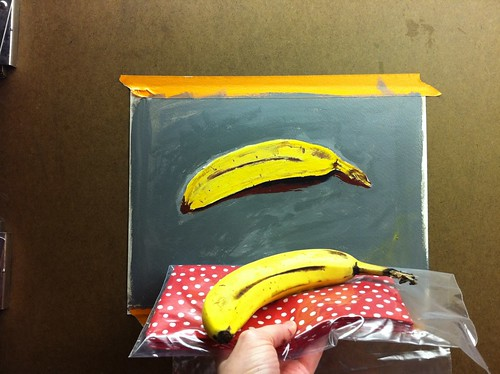 comparing bananas