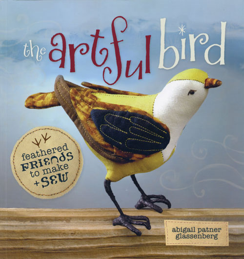 The Artful Bird by Abigail Patner Glassenberg, front cover