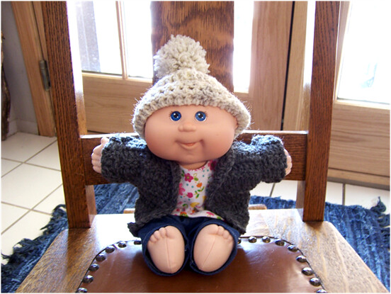 Ravelry: Cabbage Patch Kid Crocheted Bonnet pattern by Janice Helge