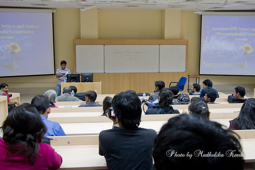 Gunjan at IIM