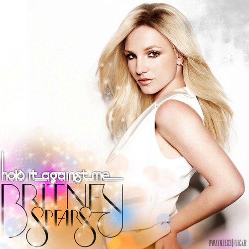 britney spears hold it against me album art. Britney Spears - Hold It
