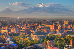 / Yerevan in full color (Seroujo) Tags: mount yerevan masis ararat