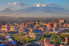 Գունաւոր Երեւանը / Yerevan in full color (Seroujo) Tags: mount yerevan masis ararat երեւան արարատ մասիս