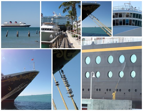 Disney Cruise Ship Collage