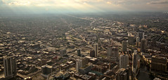 Chicago from 1,353 feet (Kelly Winstrom) Tags: chicago canon fun searstower sunny sigma1020mm canonxsi willistower
