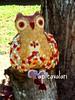 Owlfélia 3, vai subir a serra... (AP.CAVALARI / ANA PAULA) Tags: quilt owl coruja feitoamão anapaulacavalari apcavalari alfomada