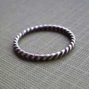 Little Sterling Silver Stacking Rings