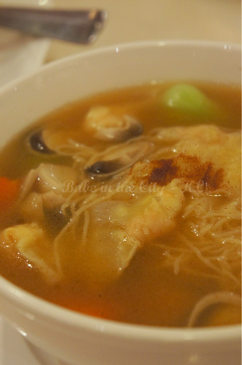 Shrimp Wantan Soup Noodle (RM10)