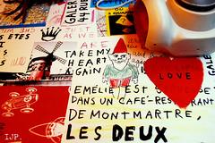 Paris 18 (Iris Jones) Tags: camera red paris france french gnome fuji montmartre amelie mundane irisjonesphotography artinthemundane undane