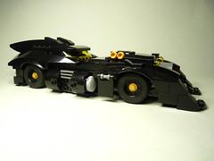 My custom Lego Batman Batmobile (1st version) (AC Studio) Tags: building car toy batcave construction lego batman batmobile