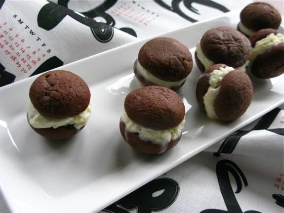 chocolate coconut ice cream sandwiches 003