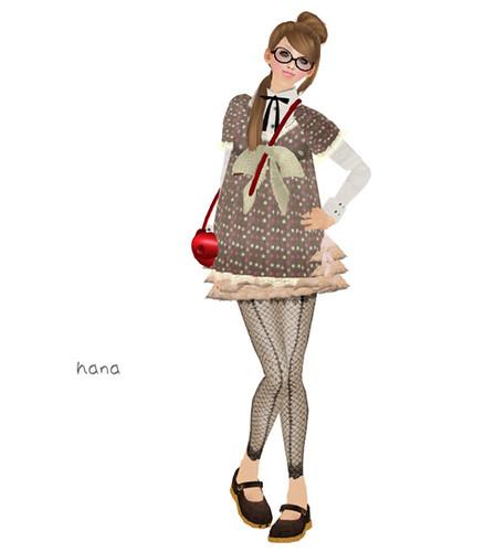 .::Y&R::. Dotty laced top dress