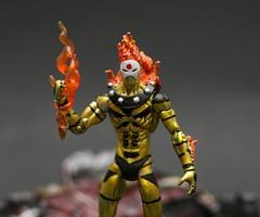 Marvel Universe AoA Sunfire (SpeedRocket) Tags: action apocalypse age figure custom marvel universe legend sunfire hasbro aoa