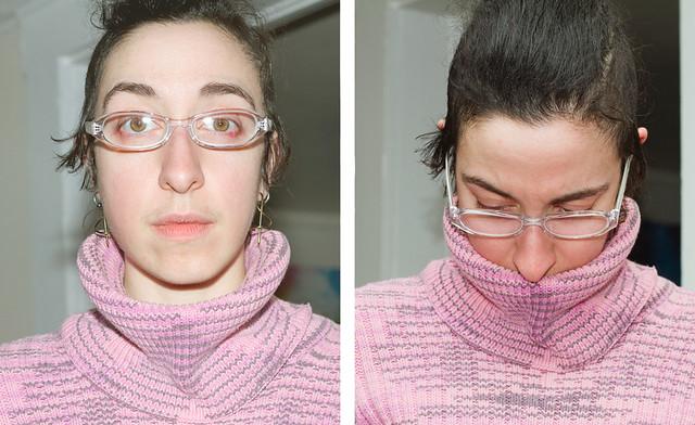 New Glasses: me