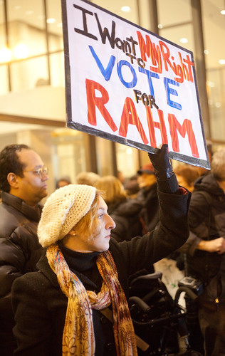 I Want My Right to Vote for Rahm