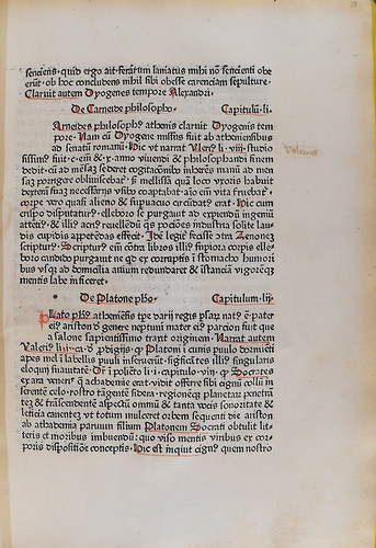 Annotation in Burlaeus, Gualtherus: De vita et moribus philosophorum