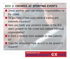 Crowds at sporting events (sportEX journals) Tags: medicine rehabilitation sportsmedicine sportex sportexmedicine