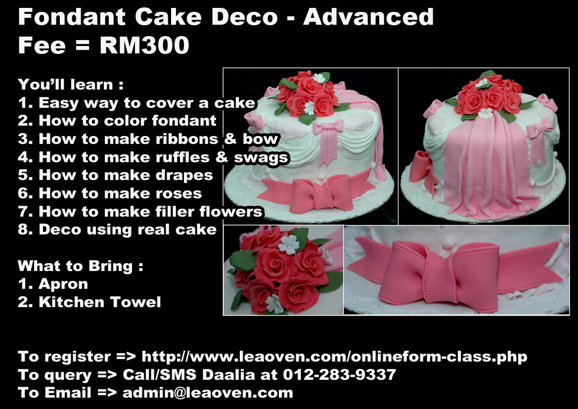 Fondant Cake B