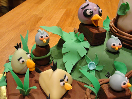 Angry Birds Cake 10