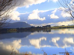 Bonnie Loch Leven. (B4bees) Tags: winter history beauty sunshine clouds rural reflections picture attraction kinross lochleven lochlake brianforbesphotography