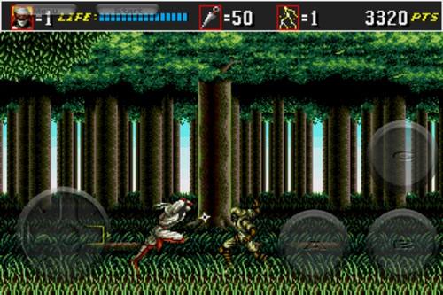 Shinobi III: Return of the Ninja Master (iphone)