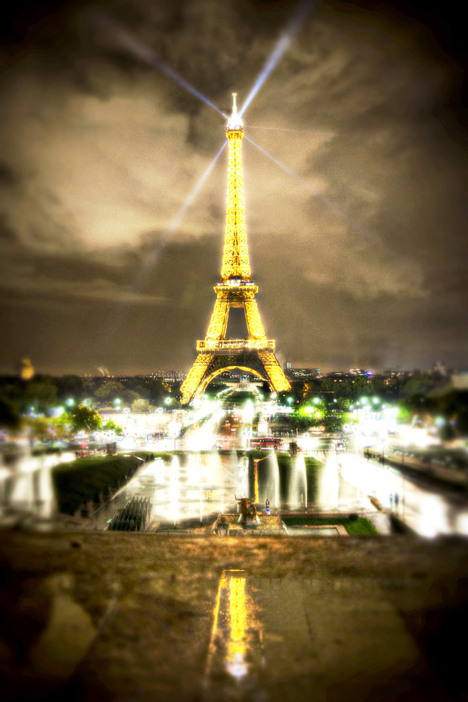 Eiffel Tower in HDR - Paris, France