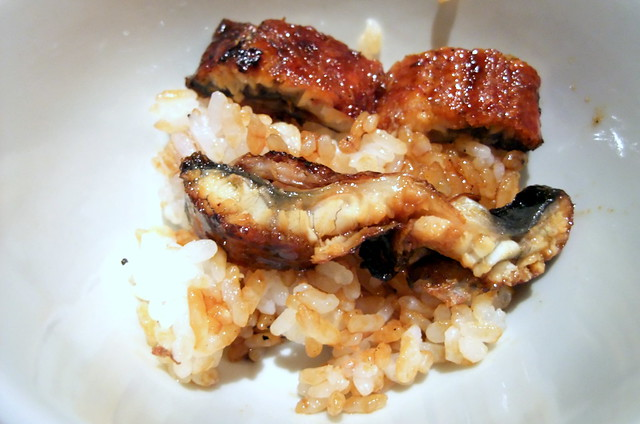 1st Style: Unagi on Rice