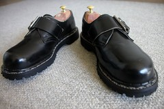 Gripfast Low-cut Boots after all soles repair (GABURU) Tags: shoes boots gripfast unionworks