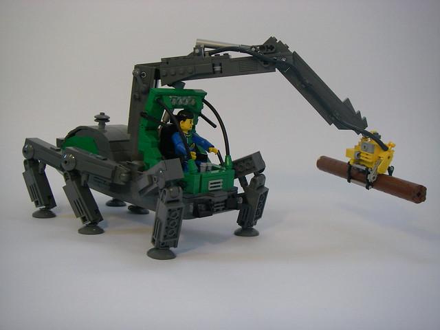 Lego Nxt Walking Robot Building Instructions