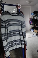 GAP Winter 2010 ; striped sweater