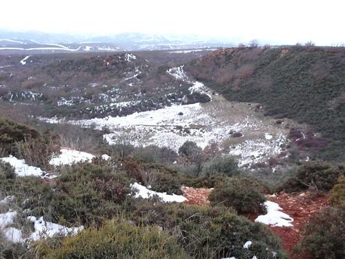 Fucochico, Luyego,explotaciones mineras romanas