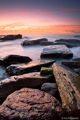 Light on Rocks (-yury-) Tags: ocean light sea seascape beach landscape rocks sydney australia nsw surise turimetta