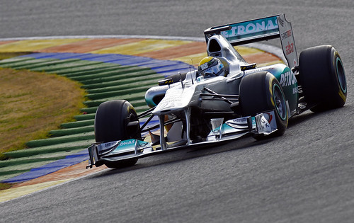 Mercedes W02 F1 2011