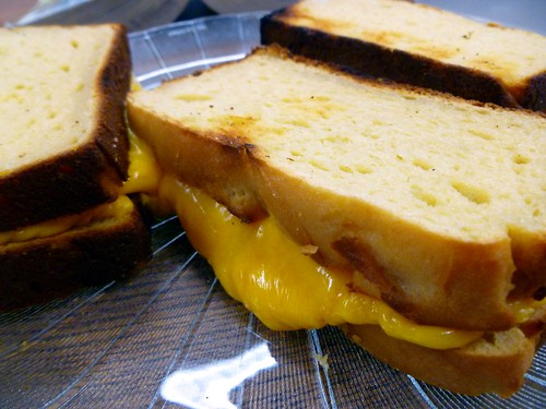 Gluten free toasted cheese sammies