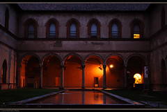 Milano, interno castello sforzesco (L *) Tags: