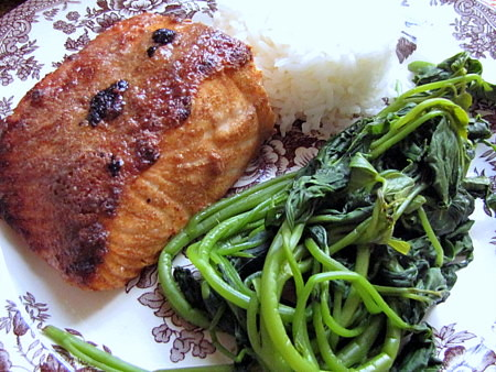 Sinigang Crusted Salmon
