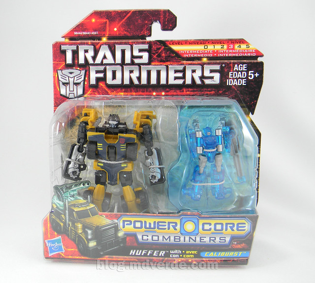 Transformers Huffer Power Core Combiners - caja