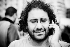 Blogger Alaa   (Hossam el-Hamalawy  ) Tags: egypt cairo revolution protests intifada jan25intifada