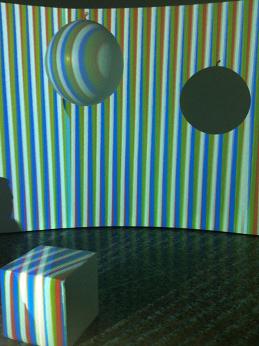 Chromo Interference Atmosphere at Color in Space and Time
