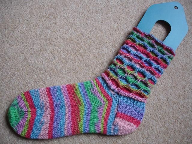 Charlotte's Circle socks (3)