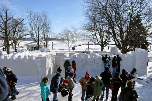 FebFest - Snow maze