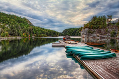 "THE LAKE MOHONK (James Chan ""JC Inspiration"") Tags: world travel usa house mountain lake inspiration ny reflection nature relax landscape hotel james kayak unitedstates earth united president sightseeing resort smiley reflective jc hotels elegant hdr mohonk outskirt jameschan jcinspiration"