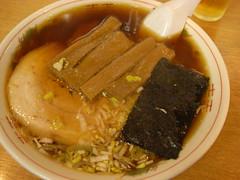 拉麺タイヂ「中華そば(煮干)」(650円)