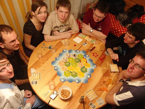 Catan (Zoli winning...)